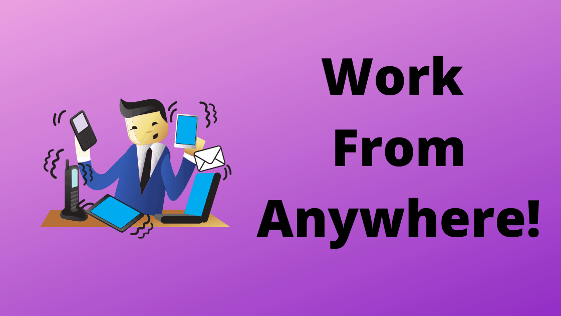 Work From Anywhere banner