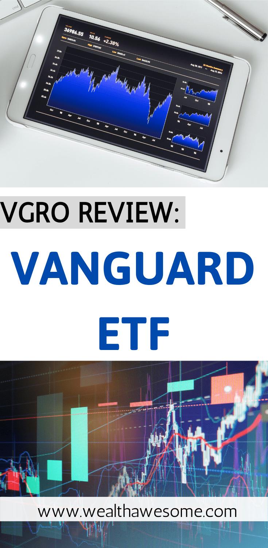 Vanguard ETF Review Pinterest Pin