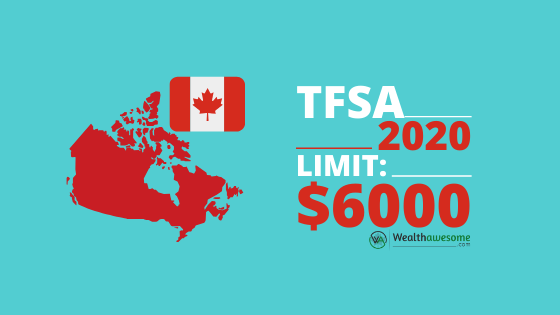 TFSA Limit 2020 Update: It's $6000 Again!