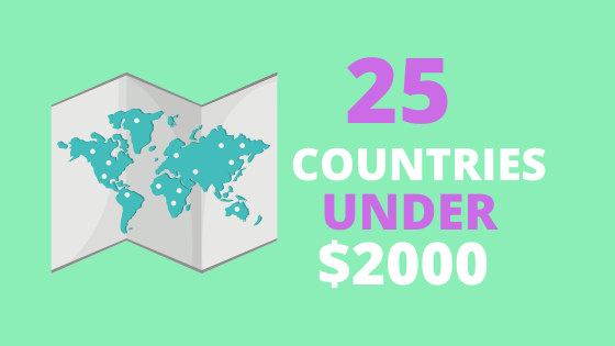 25 Countries Under $2000_Month