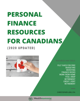 Wealthawesome Canadian Personal Finance Tools and Resource Guide Cover