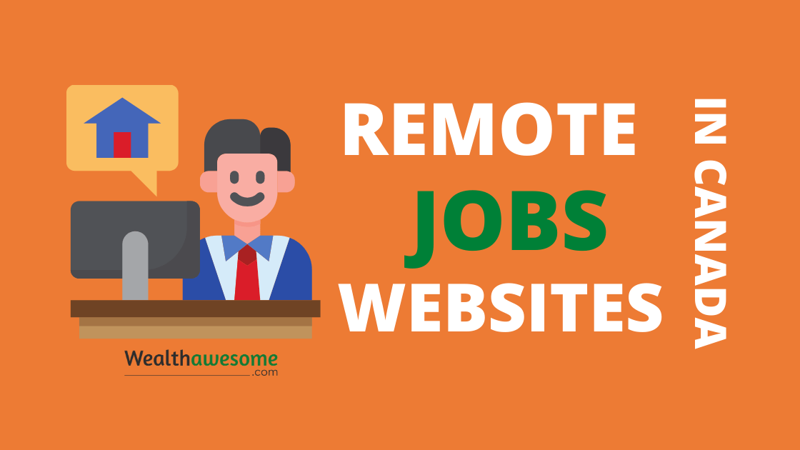 Remote Jobs Websites in Canada