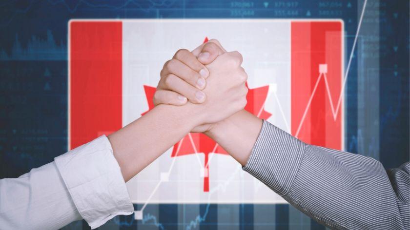 Canada flag deal