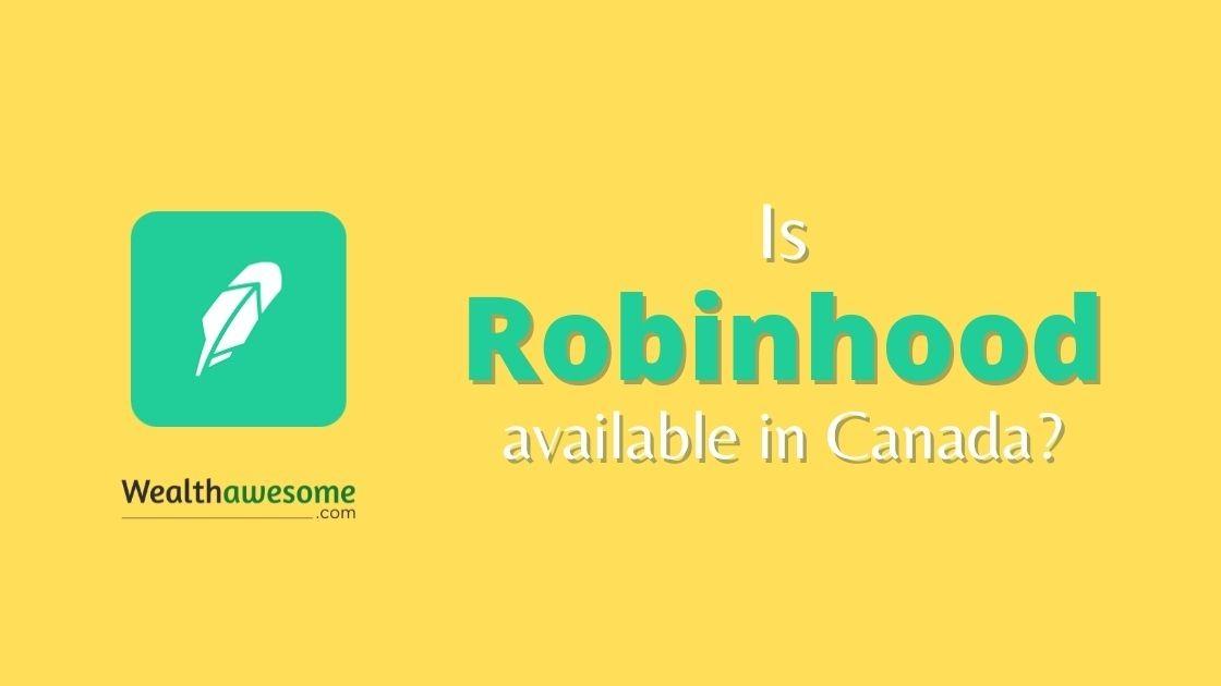 robinhood canada